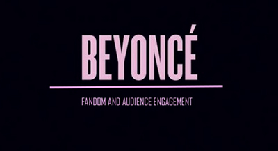 What can organisations learn from Beyonce's interaction with her fans?