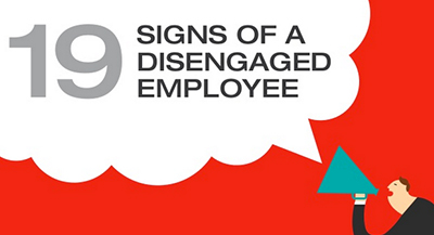 Slide decks: Signs of a Disengaged Employee and How to Lose an Employee