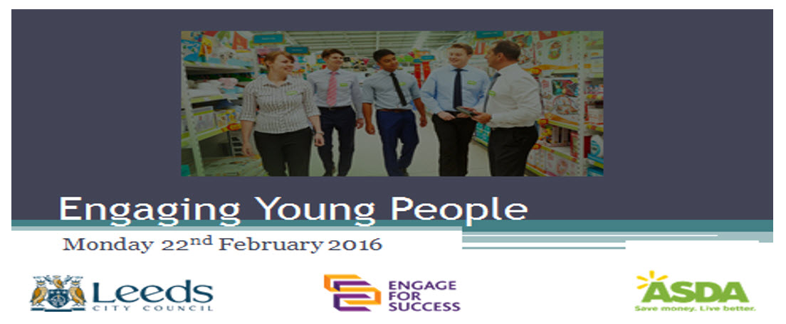 Event: Engaging Young People – 22 February 2016