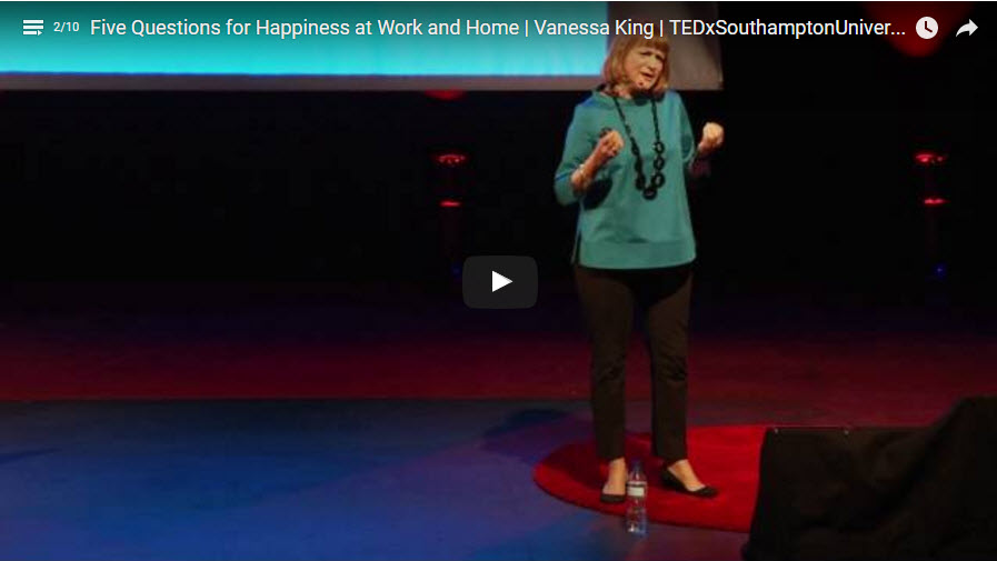 Five Questions for Happiness at Work and Home