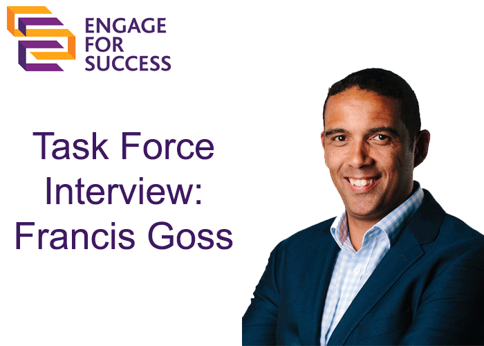 EFS Task Force Interview: Francis Goss