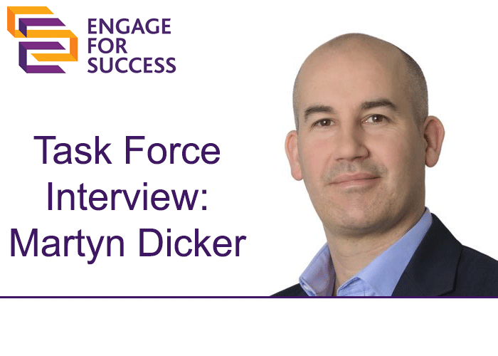 EFS Task Force Interview: Martyn Dicker – The Power of a Simple Thank You