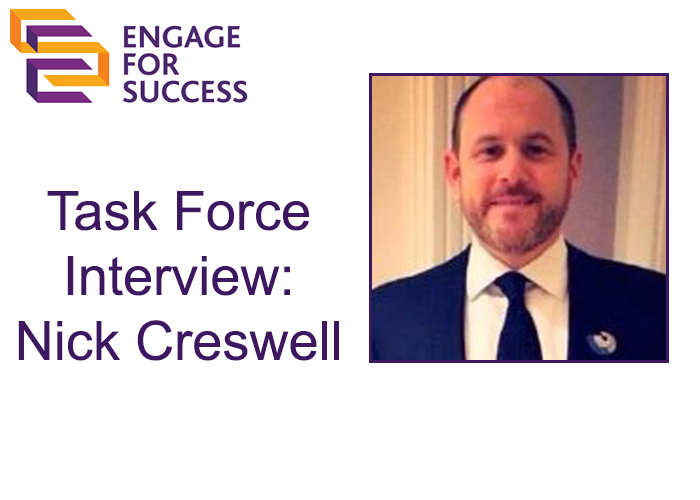 EFS Task Force Interview: Nick Creswell