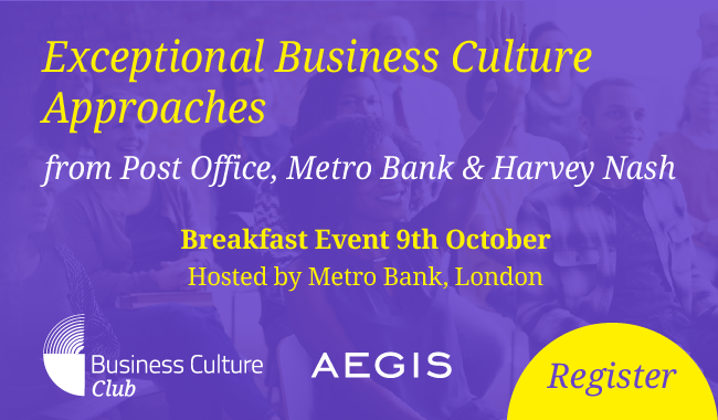 Business Culture Club Breakfast Event