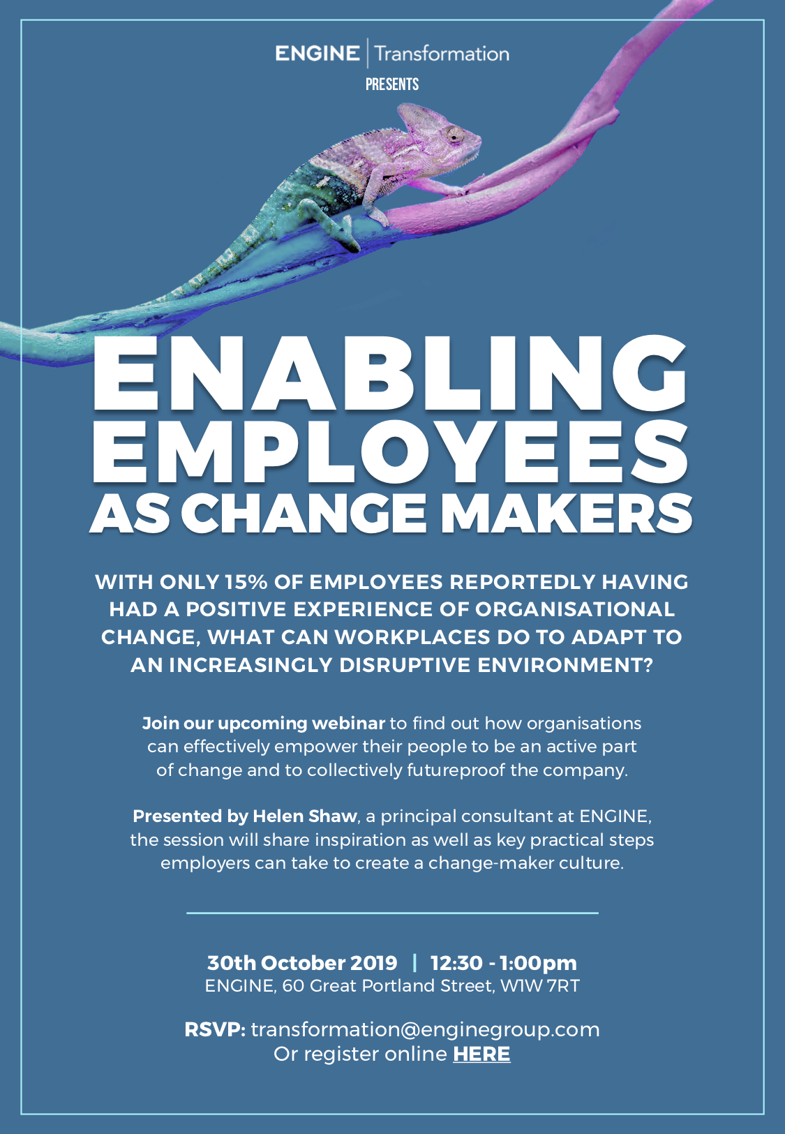 Free Webinar: Employees As Change-Makers