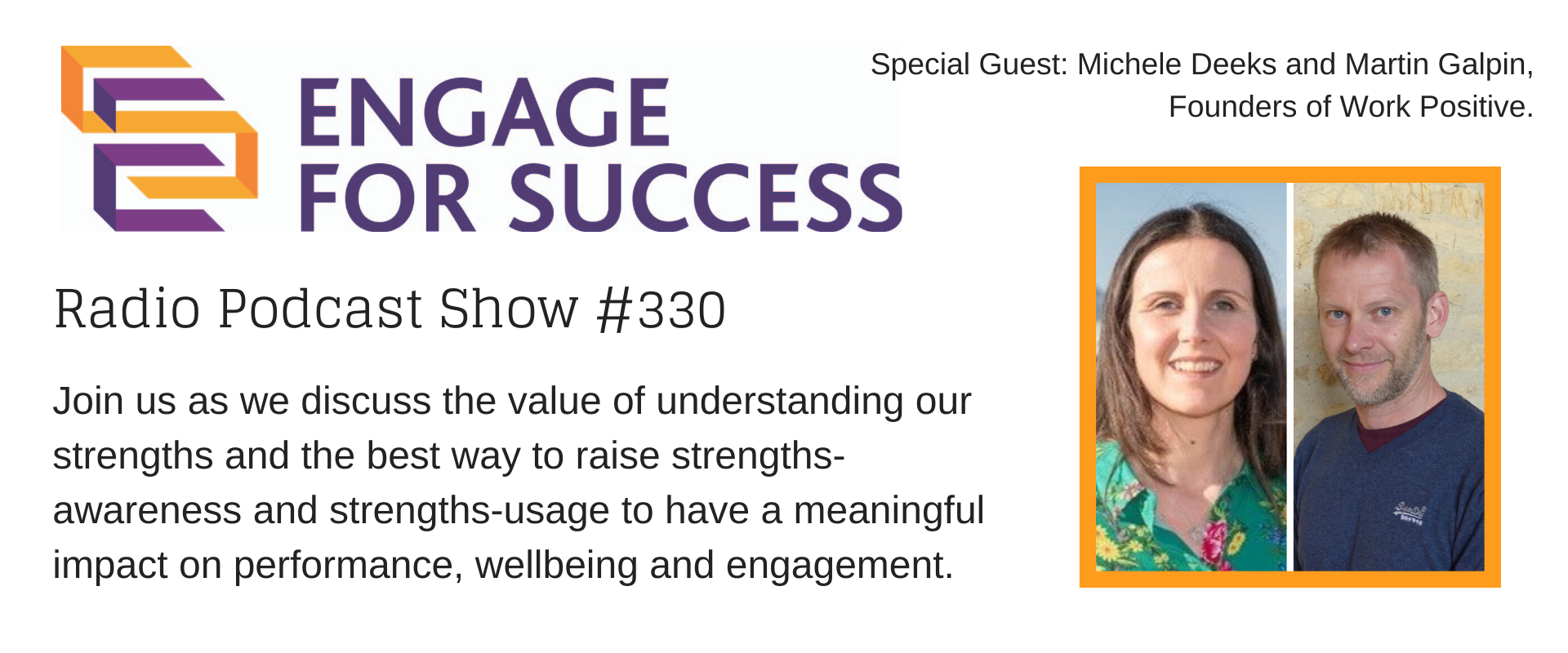Radio Show #330: The value of understanding our strengths