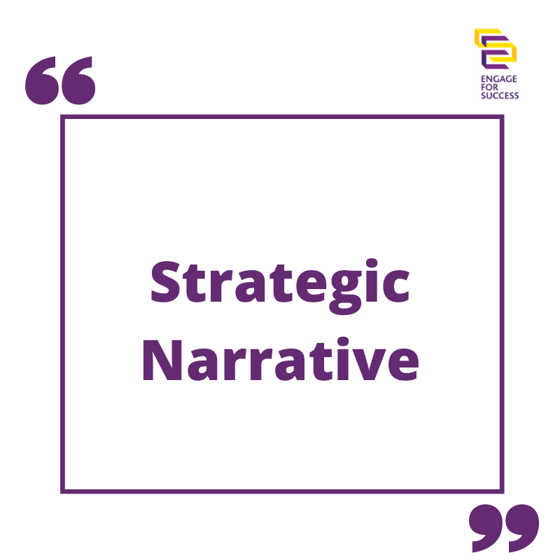 Using A Strategic Narrative In The Current Climate