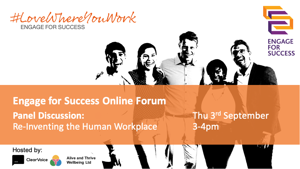 Panel Discussion: Re-Inventing the Human Workplace