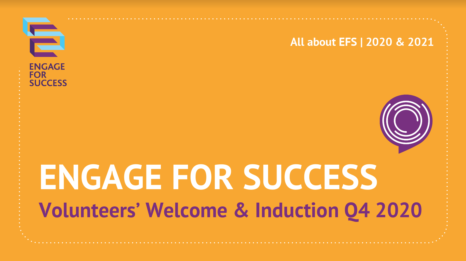 Check out the informative Welcome & Induction Pack