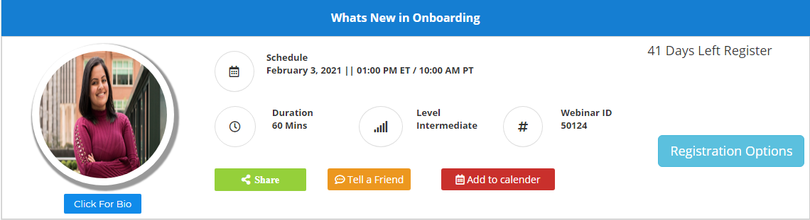 Whats New in Onboarding