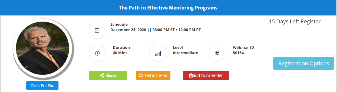 The Path to Effective Mentoring Programs
