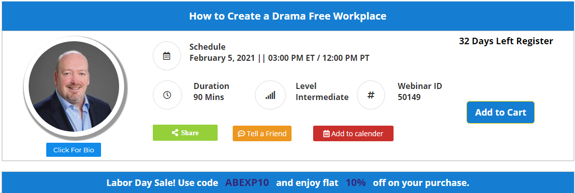 How to Create a Drama Free Workplace