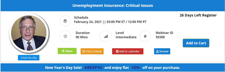 Unemployment Insurance Update 2021