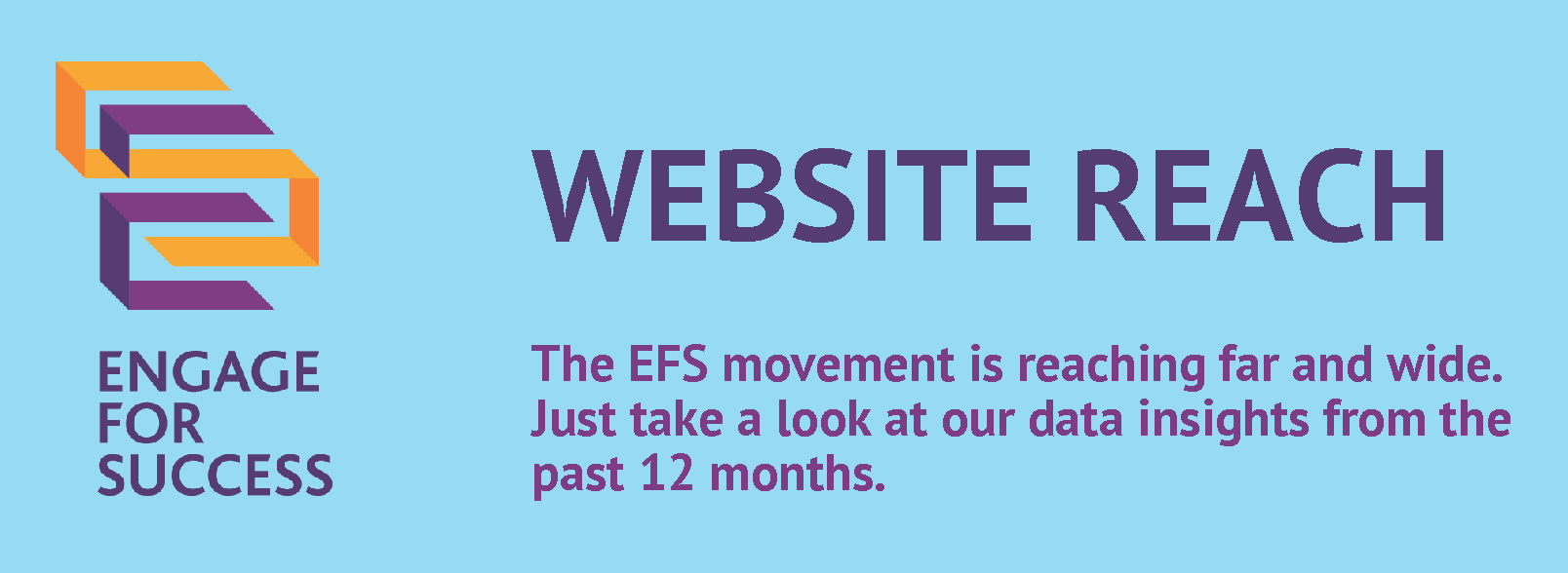 Infographic: How many visitors to the EFS website?